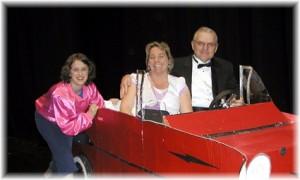 Megan Botts, Lori Tassano and Jim Nunes